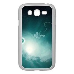 Astronaut Space Travel Gravity Samsung Galaxy Grand DUOS I9082 Case (White)