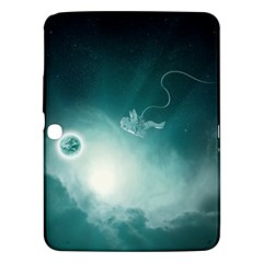 Astronaut Space Travel Gravity Samsung Galaxy Tab 3 (10.1 ) P5200 Hardshell Case