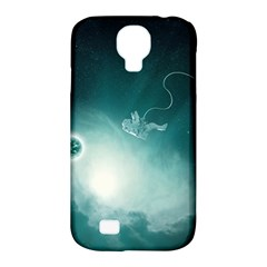 Astronaut Space Travel Gravity Samsung Galaxy S4 Classic Hardshell Case (PC+Silicone)