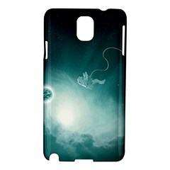 Astronaut Space Travel Gravity Samsung Galaxy Note 3 N9005 Hardshell Case