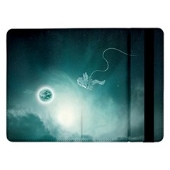 Astronaut Space Travel Gravity Samsung Galaxy Tab Pro 12.2  Flip Case