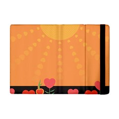 Love Heart Valentine Sun Flowers Apple iPad Mini Flip Case