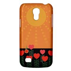 Love Heart Valentine Sun Flowers Galaxy S4 Mini