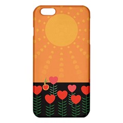 Love Heart Valentine Sun Flowers Iphone 6 Plus/6s Plus Tpu Case
