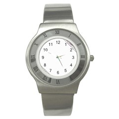 Floral Ornament Baby Girl Design Stainless Steel Watch