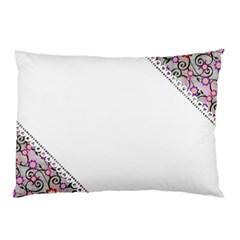 Floral Ornament Baby Girl Design Pillow Case