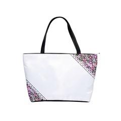 Floral Ornament Baby Girl Design Shoulder Handbags