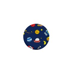 Space Background Design 1  Mini Magnets