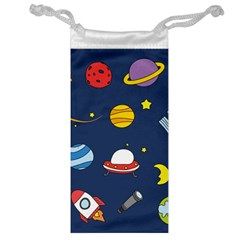 Space Background Design Jewelry Bag