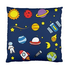 Space Background Design Standard Cushion Case (one Side)