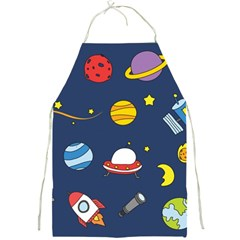 Space Background Design Full Print Aprons