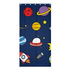 Space Background Design Shower Curtain 36  x 72  (Stall)