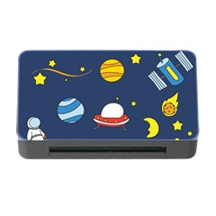 Space Background Design Memory Card Reader with CF