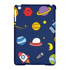 Space Background Design Apple Ipad Mini Hardshell Case (compatible With Smart Cover)