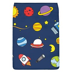 Space Background Design Flap Covers (L)