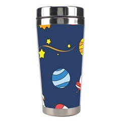 Space Background Design Stainless Steel Travel Tumblers