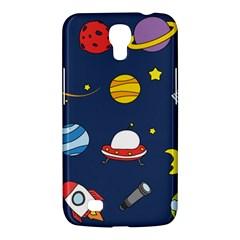 Space Background Design Samsung Galaxy Mega 6.3  I9200 Hardshell Case