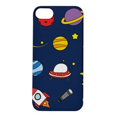 Space Background Design Apple iPhone 5S/ SE Hardshell Case