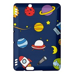 Space Background Design Kindle Fire HDX Hardshell Case