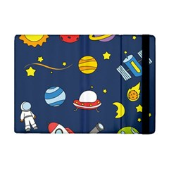 Space Background Design iPad Mini 2 Flip Cases