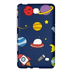 Space Background Design Samsung Galaxy Tab 4 (7 ) Hardshell Case