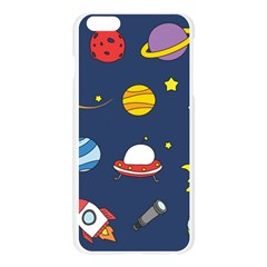 Space Background Design Apple Seamless iPhone 6 Plus/6S Plus Case (Transparent)