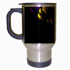 Flowers Painting Still Life Plant Travel Mug (silver Gray)