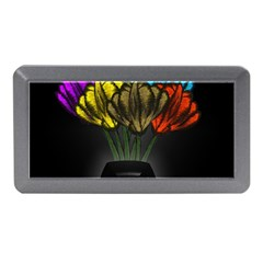 Flowers Painting Still Life Plant Memory Card Reader (mini)