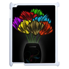 Flowers Painting Still Life Plant Apple iPad 2 Case (White)