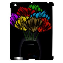 Flowers Painting Still Life Plant Apple iPad 3/4 Hardshell Case (Compatible with Smart Cover)