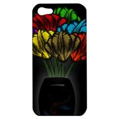 Flowers Painting Still Life Plant Apple iPhone 5 Hardshell Case