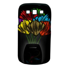 Flowers Painting Still Life Plant Samsung Galaxy S III Classic Hardshell Case (PC+Silicone)