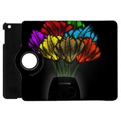 Flowers Painting Still Life Plant Apple iPad Mini Flip 360 Case