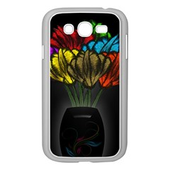 Flowers Painting Still Life Plant Samsung Galaxy Grand DUOS I9082 Case (White)