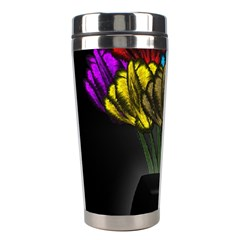 Flowers Painting Still Life Plant Stainless Steel Travel Tumblers