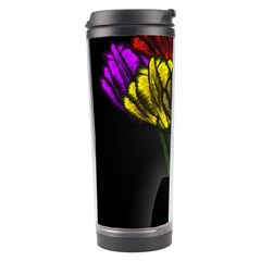 Flowers Painting Still Life Plant Travel Tumbler