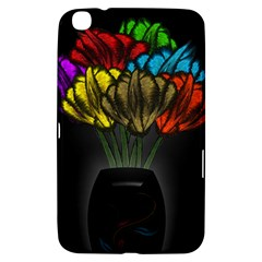 Flowers Painting Still Life Plant Samsung Galaxy Tab 3 (8 ) T3100 Hardshell Case