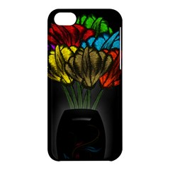 Flowers Painting Still Life Plant Apple Iphone 5c Hardshell Case