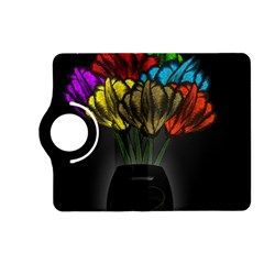 Flowers Painting Still Life Plant Kindle Fire Hd (2013) Flip 360 Case