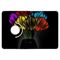 Flowers Painting Still Life Plant Kindle Fire HDX Flip 360 Case