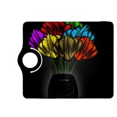 Flowers Painting Still Life Plant Kindle Fire HDX 8.9  Flip 360 Case