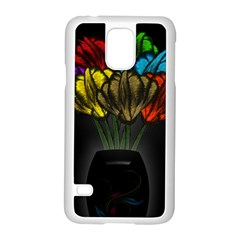 Flowers Painting Still Life Plant Samsung Galaxy S5 Case (White)