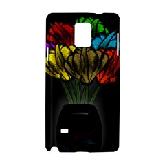 Flowers Painting Still Life Plant Samsung Galaxy Note 4 Hardshell Case