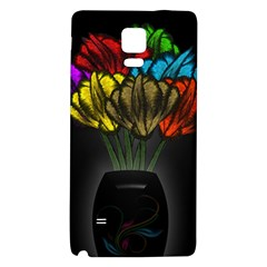 Flowers Painting Still Life Plant Galaxy Note 4 Back Case