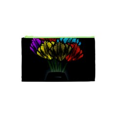Flowers Painting Still Life Plant Cosmetic Bag (xs)