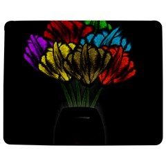 Flowers Painting Still Life Plant Jigsaw Puzzle Photo Stand (Rectangular)
