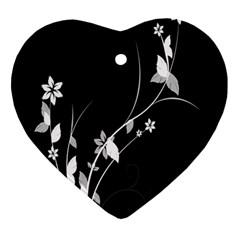 Plant Flora Flowers Composition Ornament (heart)