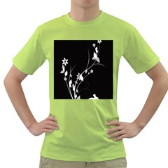 Plant Flora Flowers Composition Green T Shirt