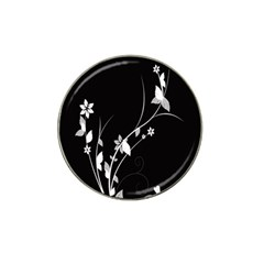 Plant Flora Flowers Composition Hat Clip Ball Marker (4 pack)