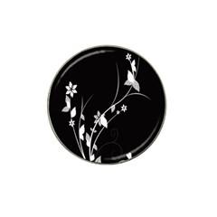 Plant Flora Flowers Composition Hat Clip Ball Marker (10 pack)